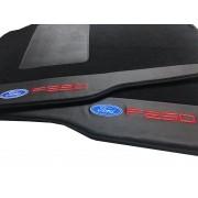 Tapete Ford F250 Cabine Dupla Carpete Premium  Hitto