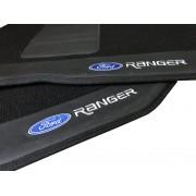 Tapete Ford Ranger Carpete Luxo Base Pinada