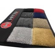 Tapete Renault R19 Carpete Premium Base Pinada