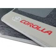 Tapete Toyota Novo Corolla Carpete Luxo Base Pinada Hitto