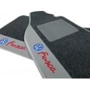 Tapete Vw Fusca Carpete Luxo Base Pinada