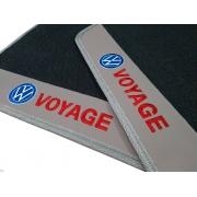 Tapete Vw Voyage Borracha Pvc Base Pinada