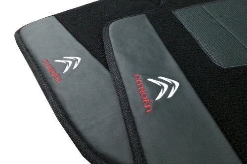 Tapete Citroën C3 Picasso Carpete Premium  Base Pinada