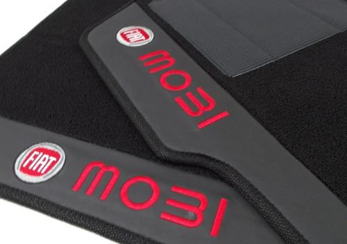 Tapete Fiat Mobi Carpete Premium Base Pinada