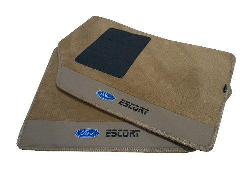 Tapete Ford Escort Zetec Carpete Premium Base Pinada