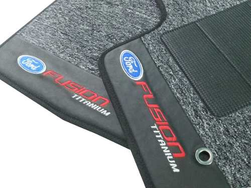 Tapete Ford Fusion Novo Carpete Premuim Base Pinada