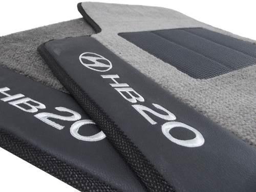 Tapete Hyundai Hb20 Sedan Carpete Linha Premium