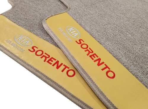 Tapete Kia Sorento 7 Lugares Carpete Premium