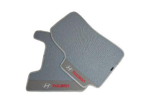 Tapete Hyundai Tucson Borracha Cinza Alto Padrão Hitto