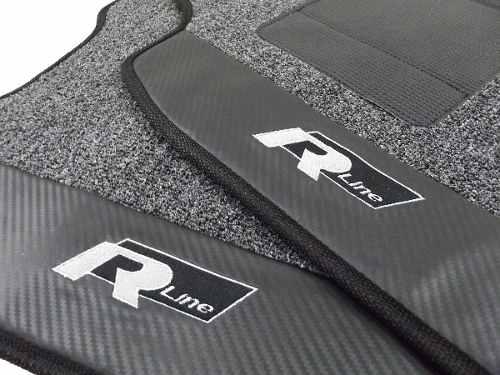 Tapete Vw Tiguan Rline Carpete Premium Base Pinada