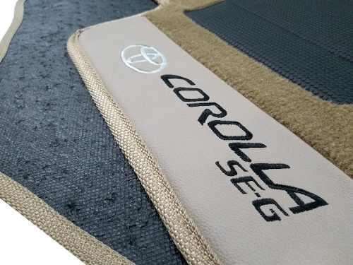 Tapete Corolla 2008/2015 Carpete Premium Base Pinada