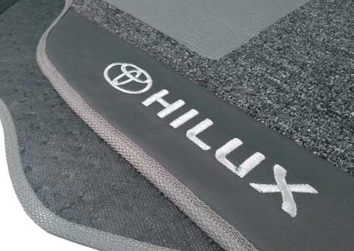 Tapete Toyota Hilux 2004/2015 Carpete Premium