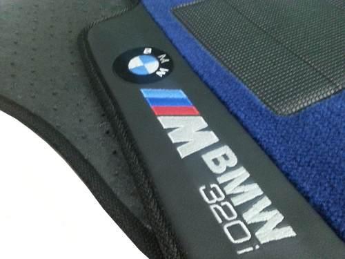Tapete Bmw 320i 2015 Carpete Premium Base Pinada