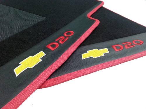 Tapete Gm D20 Carpete Luxo Base Borracha Pinada