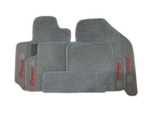 Kit Assoalho+ Porta Mala Corolla Carpete Premium