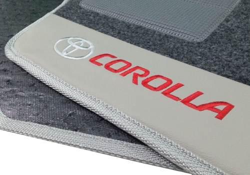 Kit Assoalho+ Porta Malas Toyota Corolla Carpete Luxo