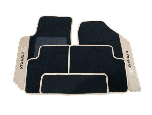 Kit Assoalho+ Porta Malas Toyota Corolla Carpete 8mm
