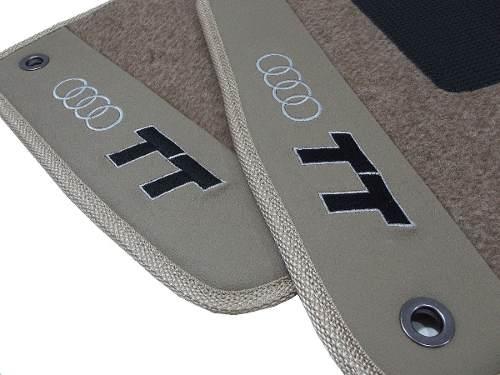 Tapete Audi Tt 2008 Carpete LuxoBase Pinada