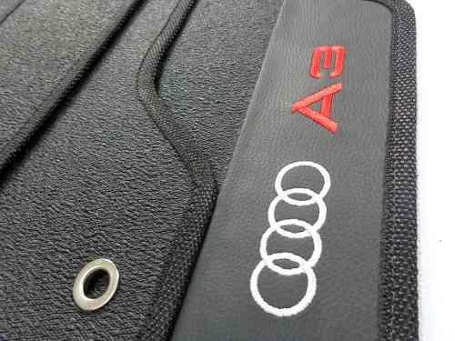 Tapete Audi A3 Borracha Alto Padrão de Qualidade Molde Original Hitto