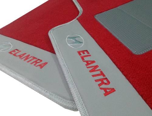 Tapetes Hyundai Elantra Carpete 12MM Premium base pinada