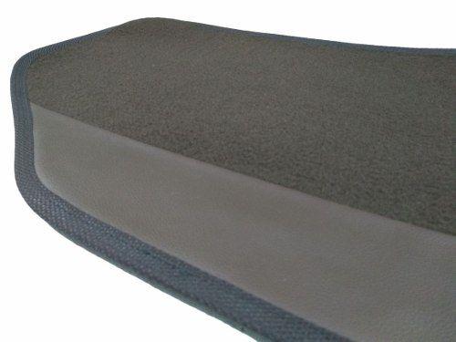 Tapete Hyundai Veloster Carpete Luxo Base Borracha Pinada