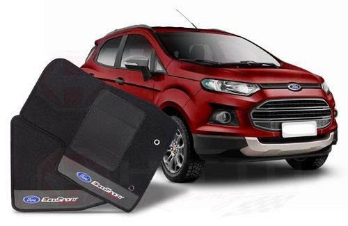 Tapete Ford Ecosport 2013/... Carpete Luxo Base Pinada Hitto
