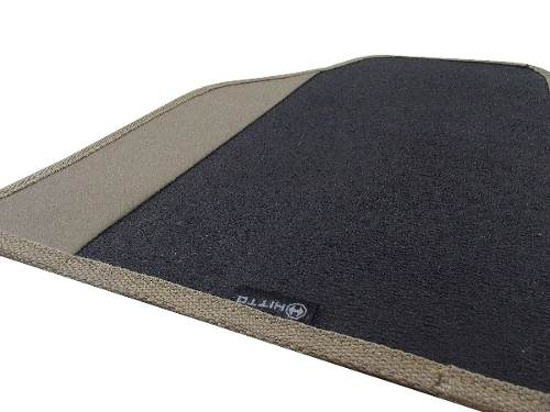 Tapete Ford Ka Borracha Pvc Com Base Borracha Pinada - Hitto