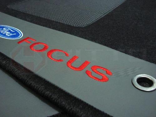 Tapete Ford Focus .../2008 Carpete Luxo Base Pinada