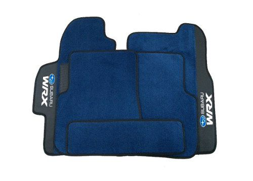 Tapete Subaru Wrx Carpete Premium Base Borracha Pinada