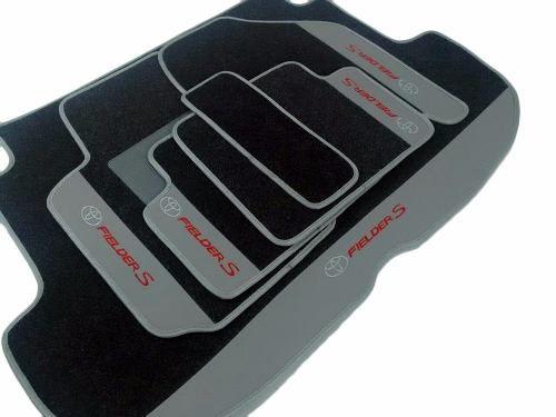 Kit Assoalho Luxo+ Porta Malas Toyota Fielder Base Pinada
