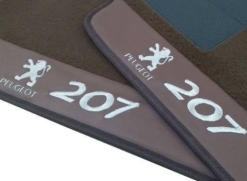 Tapete Peugeot 206/207 Quiksilver Carpete Luxo Base Pinada