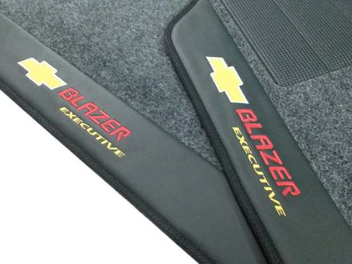 Tapete Blazer Dlx Executive Carpete Luxo Base Borracha Pinada