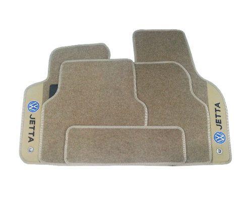 Tapete Jetta 1999/2011 Carpete Luxo Base Pinada