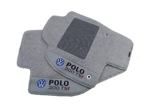 Tapete Carpete Polo Tsi  Premium com Base Pinada