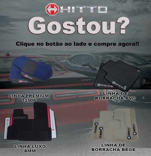 Tapete Kadett Gsi Carpete Luxo Base Pinada Hitto