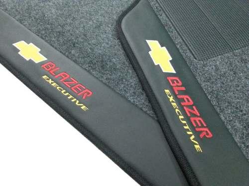 Tapete Blazer Dlx Executive Carpete 8mm Base Pinada Hitto!