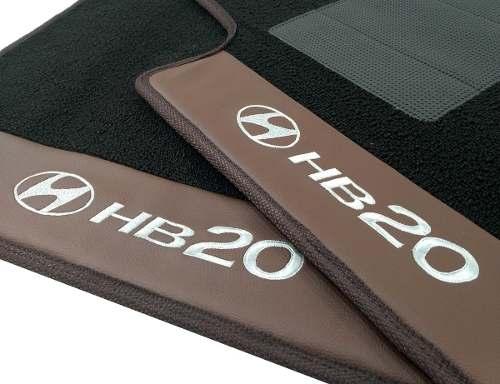Tapete Carpete Hyundai HB20 12mm Base Pinada