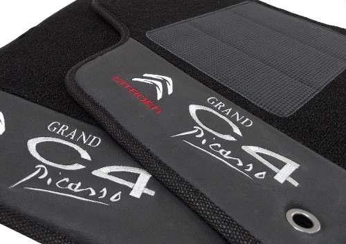 Tapete C4 Grand Picasso Carpete Premium  Base Pinada