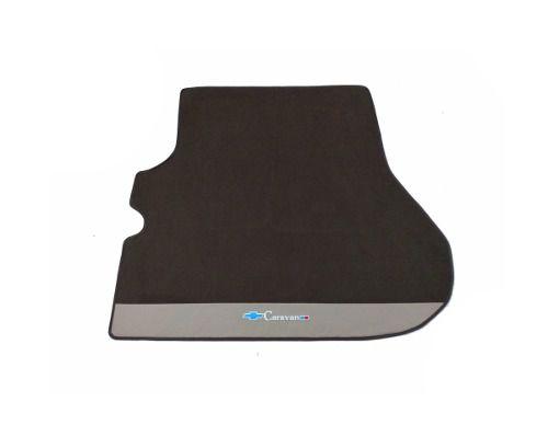 Kit Tapete Carpete + Porta Malas+Step Caravan Carpete Luxo Base Pinada