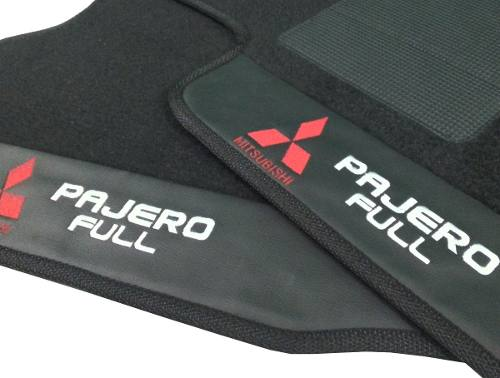 Kit Assoalho+porta Malas Mitsubish Pajero Full Carpete Luxo