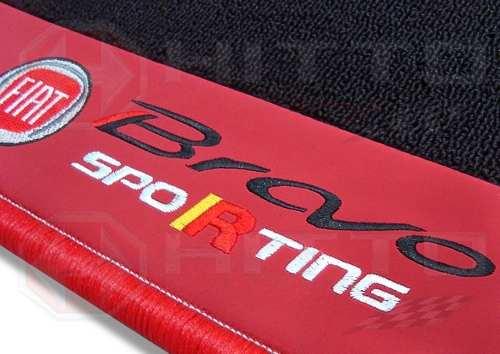 Tapete Porta Malas Bravo Sporting Carpete Premium