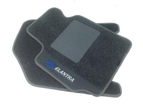 Kit Assoalho +porta Malas Hyundai Elantra Carpete Luxo