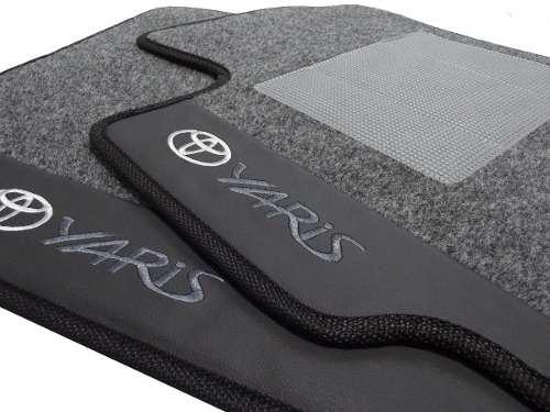 Tapete Carpete Toyota Yaris Luxo Base Pinada