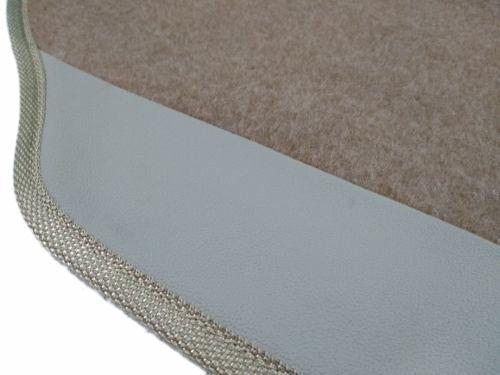 Kit Assoalho+porta Malas Trailblazer 7 Lugares Carpete Luxo