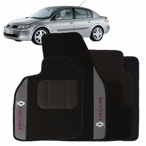Tapete Renault Logan Carpete Premium  Base Pinada