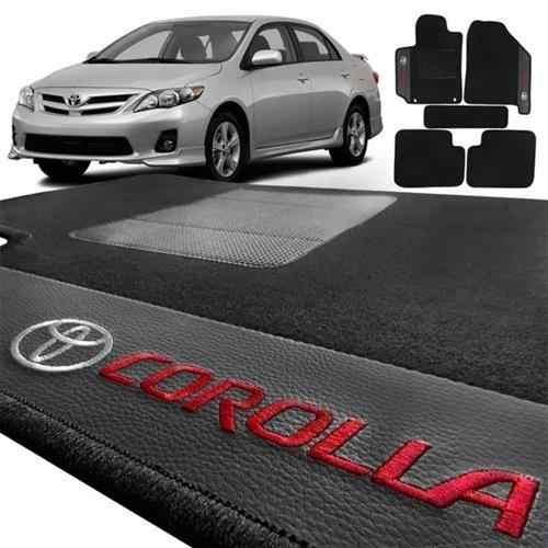Tapete Toyota Corolla 2003/2007 Carpete Luxo Base Pina