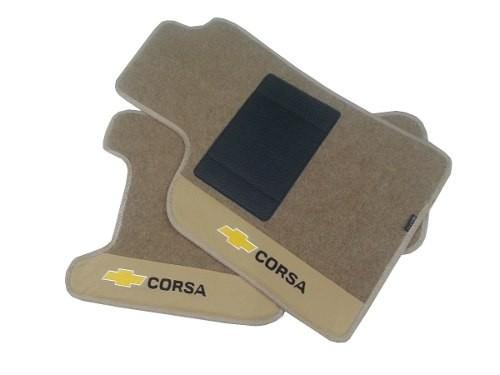 Tapete Corsa Modelo Novo Sedan Carpete 8mm Base Pinada Hitto