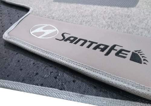 Porta Malas Hyundai Santa Fé Carpete Luxo Base Pinada Hitto