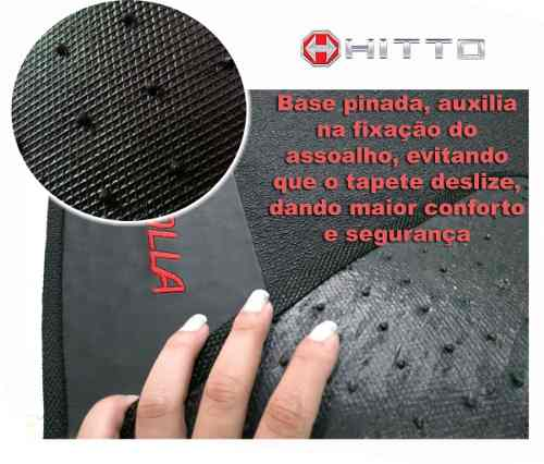 Tapete Onix Activ Borracha Base Borracha Pinada - Hitto