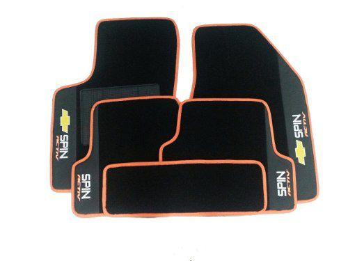 Kit Assoalho+ Porta Malas Spin Active 5lugares Luxo